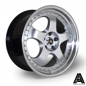 Cerchi in lega  Autostar  GT5  19''  Width 9.5   5x114  ET 22  CB 73,1    RLHSilver