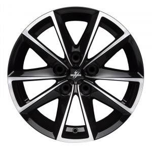 Cerchi in lega  Fondmetal  7600  17''  Width 7.50   5x114.3  ET 48.00  CB 67.2 Ring Seat    Glossy Black Machined