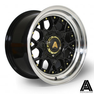 Cerchi in lega  Autostar  Sprint  15''  Width 8   4x114~4x100  ET 10  CB 67,1    RLBlack