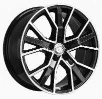 Cerchi in lega  2016 RS6 +  Dedica  AUDI  19''  Width 8.5   5x112  ET 35  CB 66.6    BLACK / POLISHED