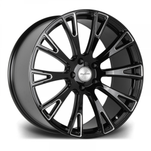 Cerchi in lega  Riviera  RV150  22''  Width 10   5X130  ET 40  CB 71.6    Gloss Black Milled Edge