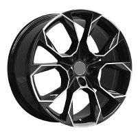 Cerchi in lega  VRS  Dedica  VW & SKODA  18''  Width 8   5x112  ET 45  CB 66.6    BLACK / POLISHED