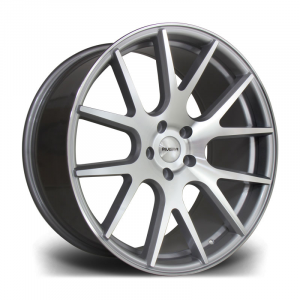 Cerchi in lega  Riviera  RV185  20''  Width 9.5   5X120  ET 38  CB 74.1    Machined Silver
