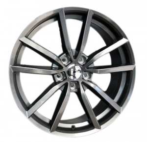 Cerchi in lega  GOLF R 2016  Dedica  VW & SKODA  18''  Width 8   5x112  ET 45  CB 57.1    GLOSS GREY