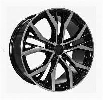 Cerchi in lega  2014 GT TDI  Dedica  VW & SKODA  18''  Width 7.5   5x112  ET 45  CB 57.1    BLACK / POLISHED