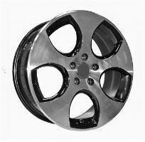 Cerchi in lega  ORIGINAL GTI  Dedica  VW & SKODA  18''  Width 7.5   5x112  ET 45  CB 57.1    BLACK / POLISHED