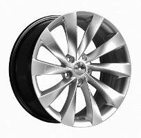 Cerchi in lega  SCIROCCO  Dedica  VW & SKODA  18''  Width 8   5x112  ET 45  CB 57.1    GLOSS BLACK