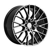 Cerchi in lega  M2 COMPETITION  Dedica  BMW  18''  Width 9   5x112  ET 35  CB 72.6    BLACK / POLISHED