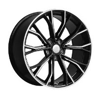 Cerchi in lega  669M  Dedica  BMW  20''  Width 8.5   5x112  ET 25  CB 66.6    BLACK / MILLED EDGE