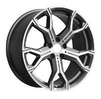 Cerchi in lega  2019 X5 MSPORT  Dedica  BMW  20''  Width 10.5   5x120  ET 40  CB 74.1    GREY / POLISHED