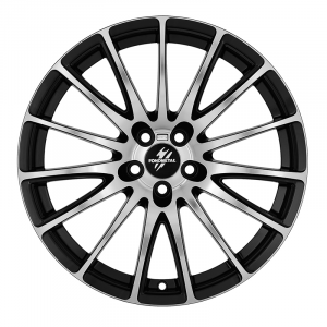 Cerchi in lega  Fondmetal  7800  18''  Width 8.00   5x108  ET 45.00  CB 67.2 Ring Seat    Glossy Black Machined