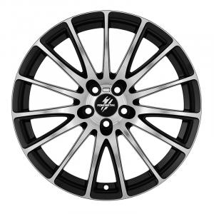 Cerchi in lega  Fondmetal  7800  18''  Width 8.00   5x114.3  ET 48.00  CB 67.2 Ring Seat    Glossy Black Machined
