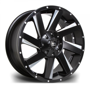 Cerchi in lega  Riviera Xtreme  RX100  17''  Width 9   6x139  ET 15  CB 110    Black Polished