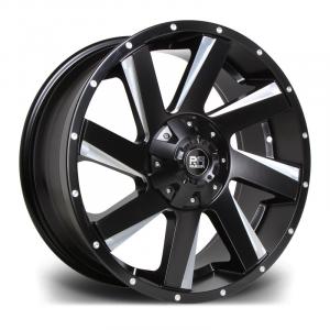 Cerchi in lega  Riviera Xtreme  RX100  18''  Width 9   6x114.3  ET 20  CB 110    Black Polished