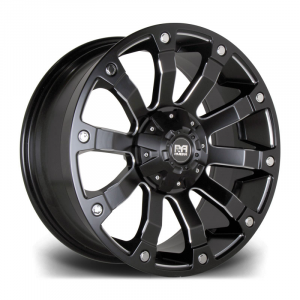 Cerchi in lega  Riviera Xtreme  RX500  20''  Width 9   6x139  ET 15  CB 110    Black Polished