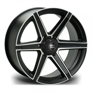 Cerchi in lega  Riviera Xtreme  RX800  20''  Width 9   6x139  ET 25  CB 110    Satin Black