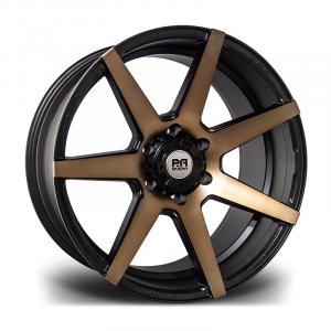 Cerchi in lega  Riviera Xtreme  RX950  20''  Width 9.5   6x139  ET 15  CB 110    Black Bronze