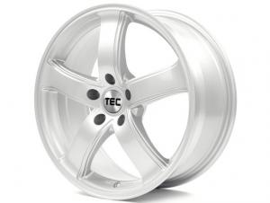 Cerchi in lega  TEC-Speedwheels  AS1  18''  Width 8   5x108  ET 45  CB 63,4    Kristall-Silber
