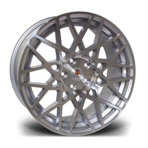 Cerchi in lega  Stuttgart  ST10  18''  Width 8.5   5X100  ET 35  CB 57.1    Silver Polished