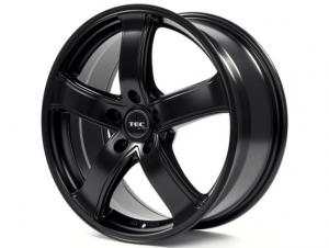 Cerchi in lega  TEC-Speedwheels  AS1  18''  Width 8   5x108  ET 45  CB 63,4    Schwarz-Seidenmatt