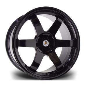 Cerchi in lega  Stuttgart  ST16-N  17''  Width 7.5   4X100/108  ET 38  CB 73.1    Gloss Black