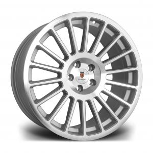 Cerchi in lega  Stuttgart  ST2  18''  Width 8.5   5x100  ET 35  CB 73.1    Silver Polished