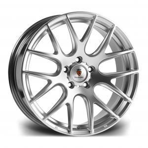 Cerchi in lega  Stuttgart  ST3  20''  Width 8.5   5X120  ET 35  CB 74.1    Hyper Silver