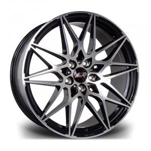 Cerchi in lega  LMR  TORIA  20''  Width 8.5   5X120  ET 45  CB 65.1    Black Polished