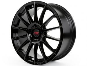 Cerchi in lega  TEC-Speedwheels  AS2  19''  Width 8,5   5x120  ET 30  CB 72,6    Schwarz-Glanz