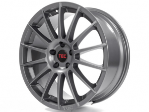 Cerchi in lega  TEC-Speedwheels  AS2  19''  Width 8,5   5x105  ET 38  CB 56,6    Gun-Metal