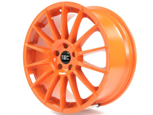 Cerchi in lega  TEC-Speedwheels  AS2  19''  Width 8,5   5x105  ET 38  CB 56,6    Orange