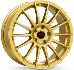 Cerchi in lega  TEC-Speedwheels  AS2  19''  Width 8,5   5x114,3  ET 40  CB 72,5    Gold