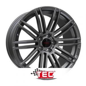 Cerchi in lega  TEC-Speedwheels  AS3  18''  Width 8   5x115  ET 38  CB 70,2    Gun-Metal