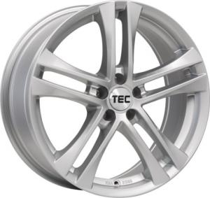 Cerchi in lega  TEC-Speedwheels  AS4  17''  Width 7,5   5x100  ET 38  CB 57,1    Brillant-Silber