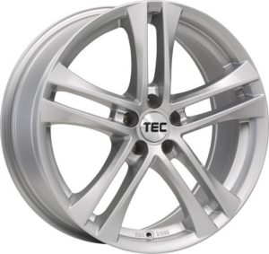Cerchi in lega  TEC-Speedwheels  AS4  18''  Width 8   5x112  ET 47  CB 72,5    Brillant-Silber