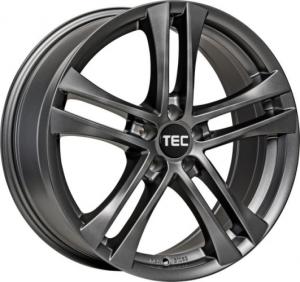 Cerchi in lega  TEC-Speedwheels  AS4  18''  Width 8   5x112  ET 47  CB 72,5    Gun-Metal