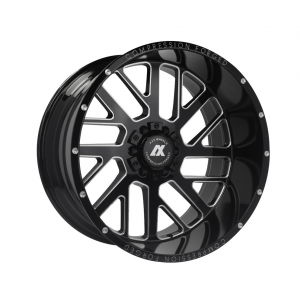 Cerchi in lega  AXE  AX2.0  22''  Width 10   5x127  ET -19  CB 87.1    Gloss Black & Chamfer