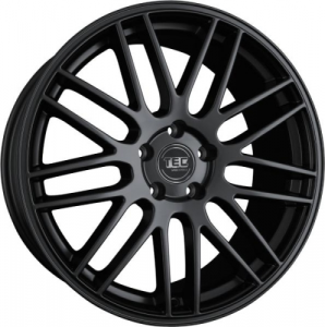 Cerchi in lega  TEC-Speedwheels  GT1  22''  Width 9,5   5x112  ET 45  CB 66,6    Schwarz-Seidenmatt