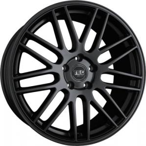 Cerchi in lega  TEC-Speedwheels  GT1  22''  Width 9,5   5x120  ET 35  CB 74,1    Schwarz-Seidenmatt