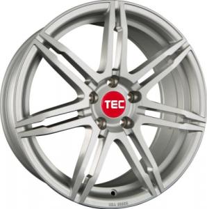 Cerchi in lega  TEC-Speedwheels  GT2  19''  Width 8   5x112  ET 45  CB 72,5    Kristall-Silber