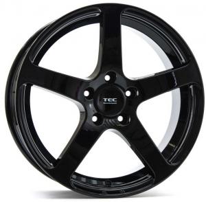 Cerchi in lega  Tec-Speedwheels  GT5  18''  Width 8,5   5x130  ET 52  CB 71,5    Schwarz-Glanz