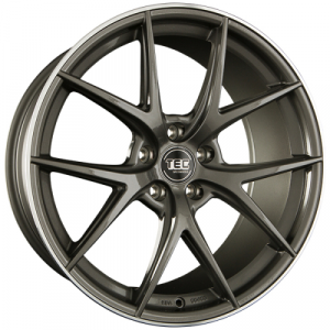 Cerchi in lega  TEC-Speedwheels  GT6  19''  Width 8   5x112  ET 45  CB 72,5    Anthrazit-Glanz-Hornpoliert
