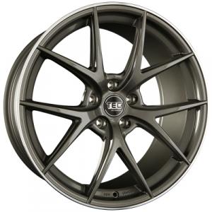 Cerchi in lega  TEC-Speedwheels  GT6  19''  Width 8   5x120  ET 30  CB 72,6    Anthrazit-Glanz-Hornpoliert