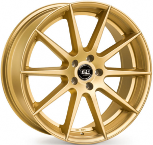Cerchi in lega  TEC-Speedwheels  GT7  19''  Width 9,5   5x112  ET 30  CB 72,5    Gold