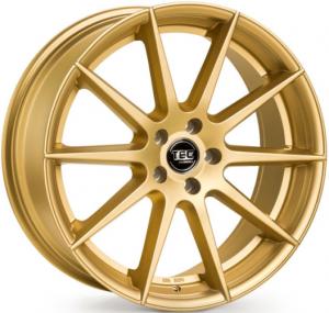 Cerchi in lega  TEC-Speedwheels  GT7  19''  Width 9,5   5x112  ET 35  CB 72,5    Gold