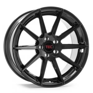 Cerchi in lega  TEC-Speedwheels  GT7  19''  Width 9,5   5x120  ET 38  CB 72,6    Schwarz-Glanz