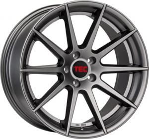 Cerchi in lega  TEC-Speedwheels  GT7  19''  Width 9,5   5x120  ET 38  CB 72,6    Gun-Metal