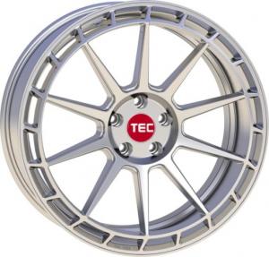 Cerchi in lega  TEC-Speedwheels  GT7  19''  Width 9,5   5x120  ET 38  CB 72,6    Hyper-Silber