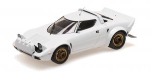 Lancia Stratos 1974 White 1/18