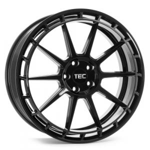 Cerchi in lega  Tec-Speedwheels  GT8  18''  Width 8   4x100  ET 38  CB 64    Schwarz-Glanz